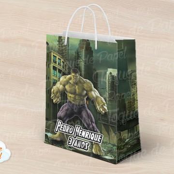 Sacolinha Hulk