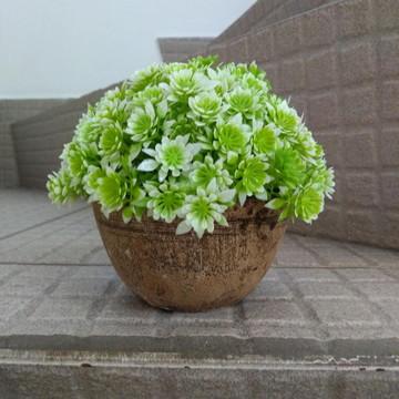 Arranjo Verde Suave artificial