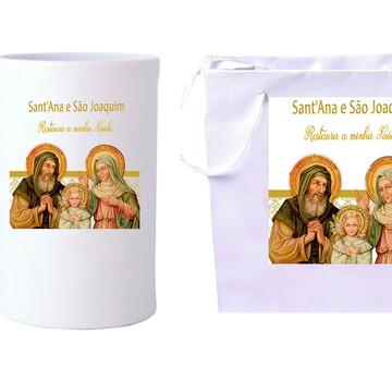 São Joaquim e Sant'Ana lembrancinha igreja