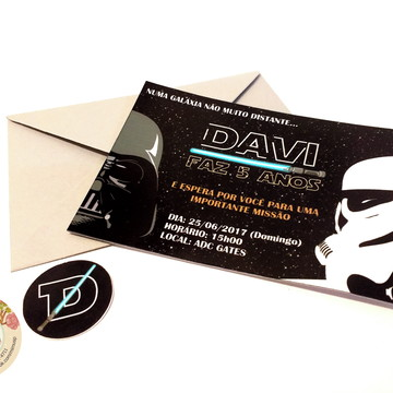 Convite - Star Wars