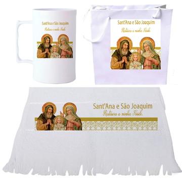 São Joaquim e Sant'Ana - Lembrancinhas católicas - Santos