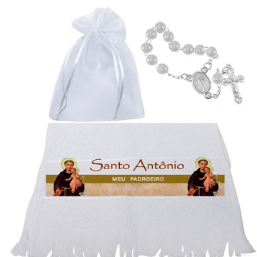Toalhinha de Santo Antônio - Lembrancinhas católicas