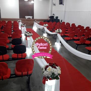 Locação de decoração de Cerimonial para Casamento