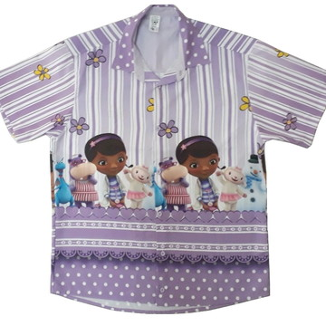 Camisa Adulto Temática Doutora Brinquedo