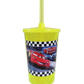 Copo twister Carros Mcqueen Disney 500ml