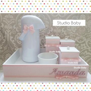Kit Higiene Bebê Menina