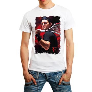 Camiseta Camisa Tennis Roger Federer Esporte T-shirt Barato