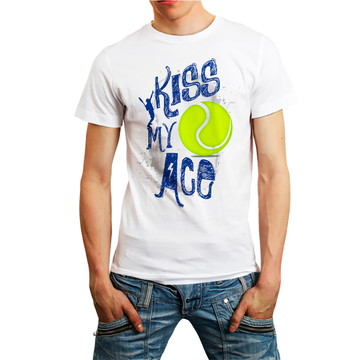 Camisa Camiseta Tennis Esporte T-shirt Roupa Masculina