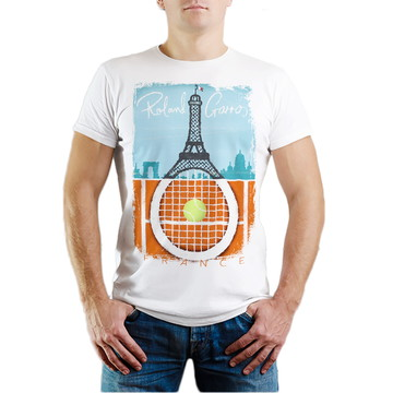 Camiseta Roland Garros Tennis Camisa Esporte T-shirt BARATO