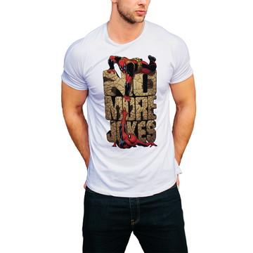 Camiseta Dead Pool Filme Camisa Masculina Homem Barato