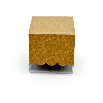 Caixa para trufa tamanho 5x5x5 cm