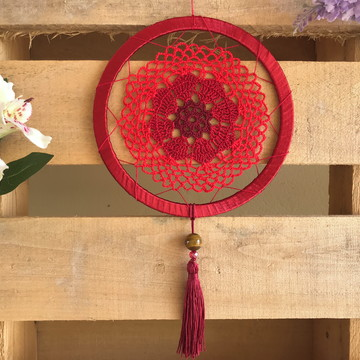 Mandala de Crochê - Muladhara