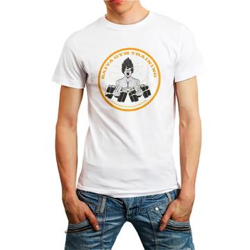 Camiseta Gym Academia Fitness Roupa Camisa Masculina Branca