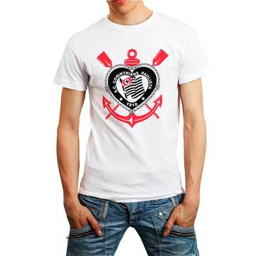 Camiseta Time Coringão Gaviões Camisa Futebol Masculina Bran