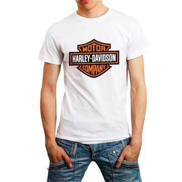 Camiseta Motorcycle Motoqueiro Camisa Roupa Branca Barato