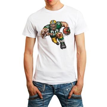 Camiseta Green Bay Packers Camisa Futebol Americano Branca