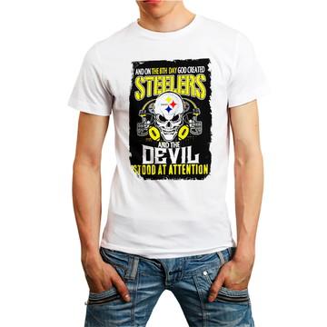 Camiseta Nfl Steelers Camisa Futebol Americano Roupa Homem