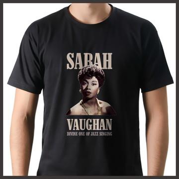 Camiseta Música Jazz Sarah Vaughan