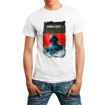 Camiseta Blitz Rainbow Six Siege 6 Camisa RB6 Games Branca
