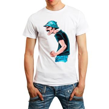 Camiseta Sr Madruga Madruguinha Chaves Camisa Masculina Bran