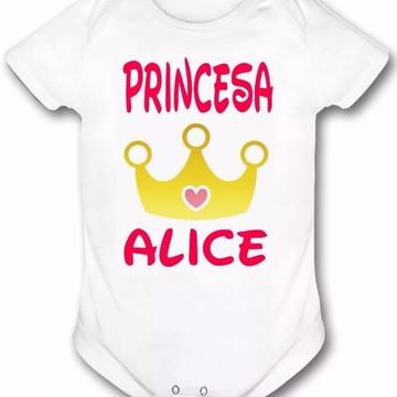 Body Personalizado Princesa