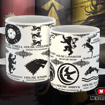 Caneca - Casa Game of Thrones