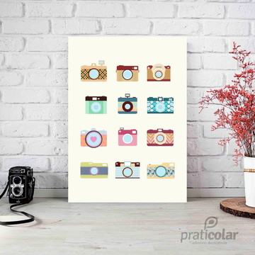 Quadro Decorativo Fotógrafo Fotografia