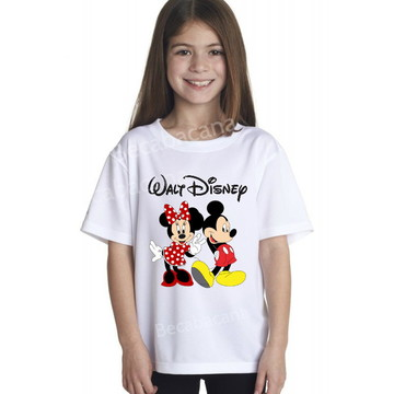 Camiseta Infantil Personagens Disney