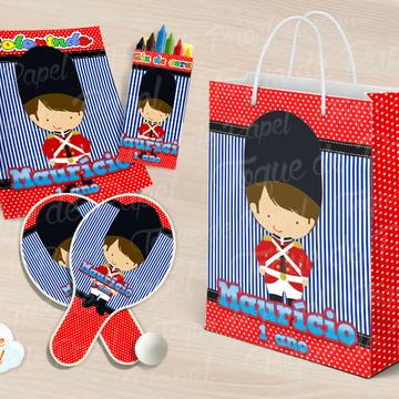 Kit Ping Pong + kit colorir soldadinho