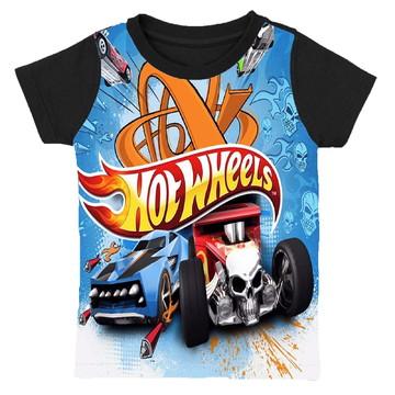 camiseta hotwheels estampa total