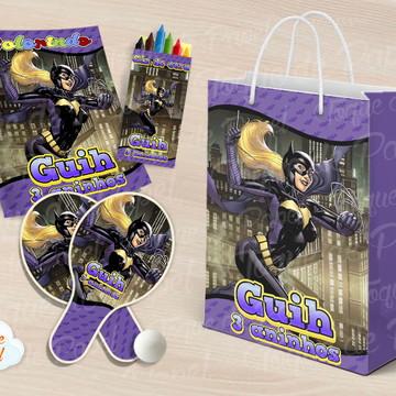 Kit Ping Pong + kit colorir batgirl batman