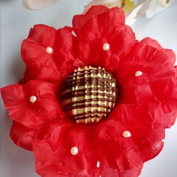 Forminha Flor de Pessegueiro - Cetim