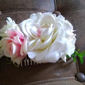 Arranjo floral para cabelo / Acessório para noivas