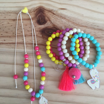 Mix Pulseiras Lhama By Vic