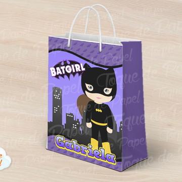 Sacolinha batgirl cute batman baby