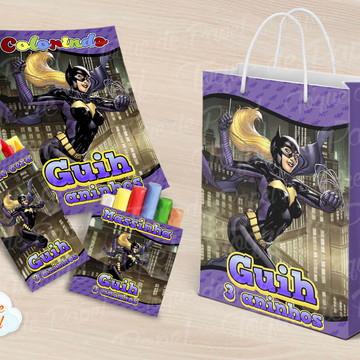 Kit para colorir batgirl batman