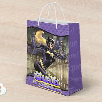 Sacolinha batgirl batman