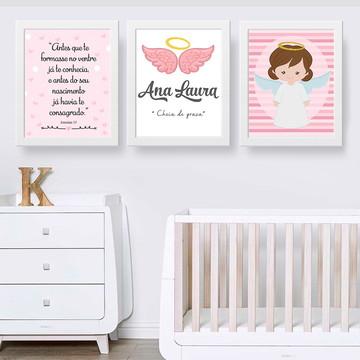 Decoração Anjinha para quarto de menina