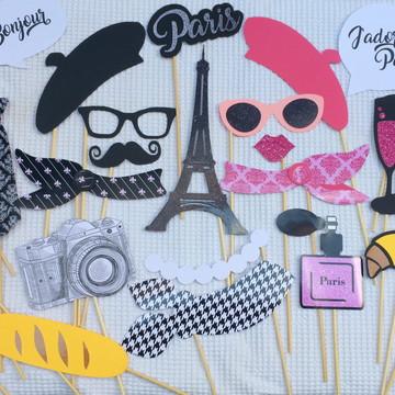 Placas Divertidas/Props Paris