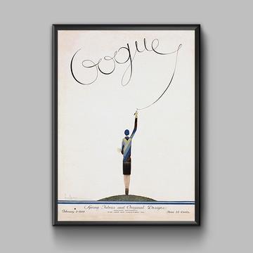 Poster Capa Vogue 1929