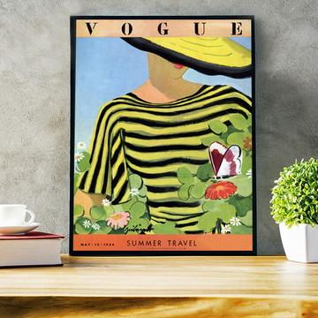 Poster Capa Vogue 1934