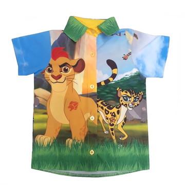 Camisa Temática A Guarda do Leão Infantil