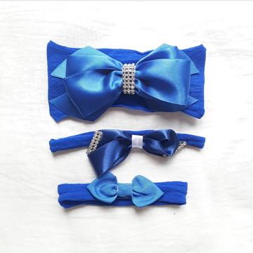 Kit laços azul