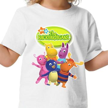 Camisa personalizada - Backyardigans