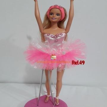 Roupinhas de boneca para Barbie - Bailarinas