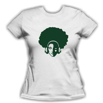 Baby Look Feminina Black Music + Brinde