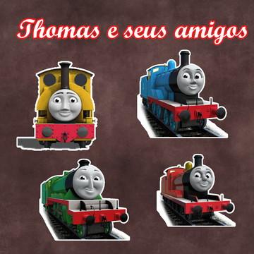 Apliques / Recortes - Thomas e seus Amigos
