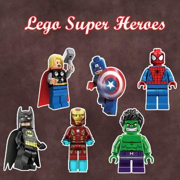 Apliques / Recortes - Lego Super Heroes