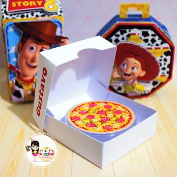 caixa de pizza latinha planet Toy Store