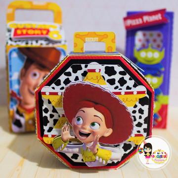 caixa oitavada Toy Store